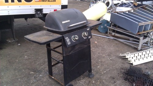 BBQ Grill Removal