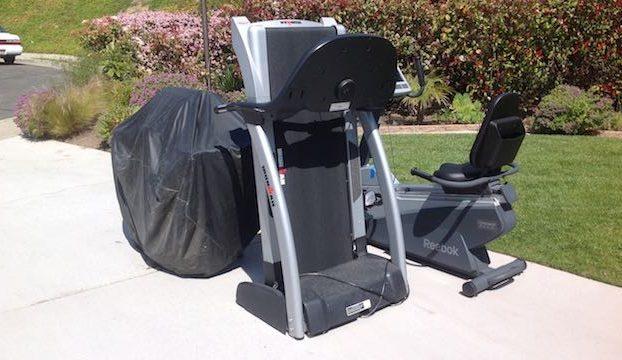 $99 treadmill curbside removal