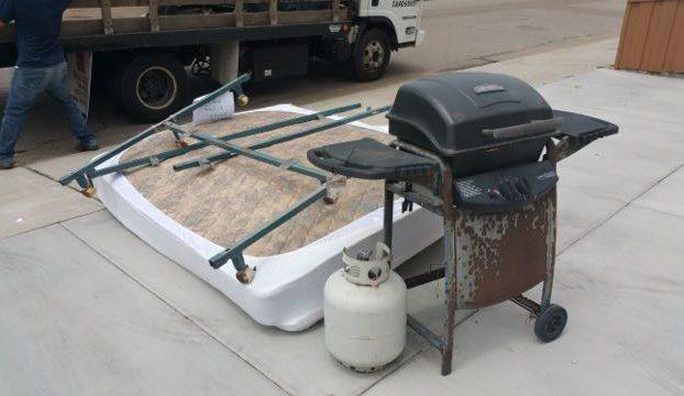bbq grill haul away san diego