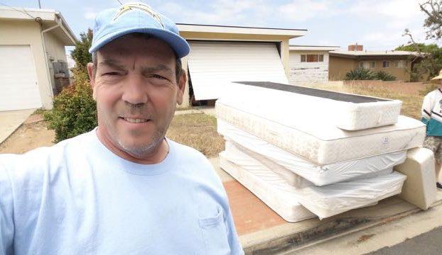 three mattress sets hauled away 99